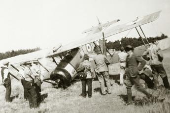 Avro 504 - recon, training